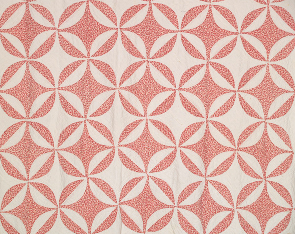 Q8649 Red & White Lemon Peel / Rob Peter to Pay Paul : robbing peter to pay paul quilt - Adamdwight.com