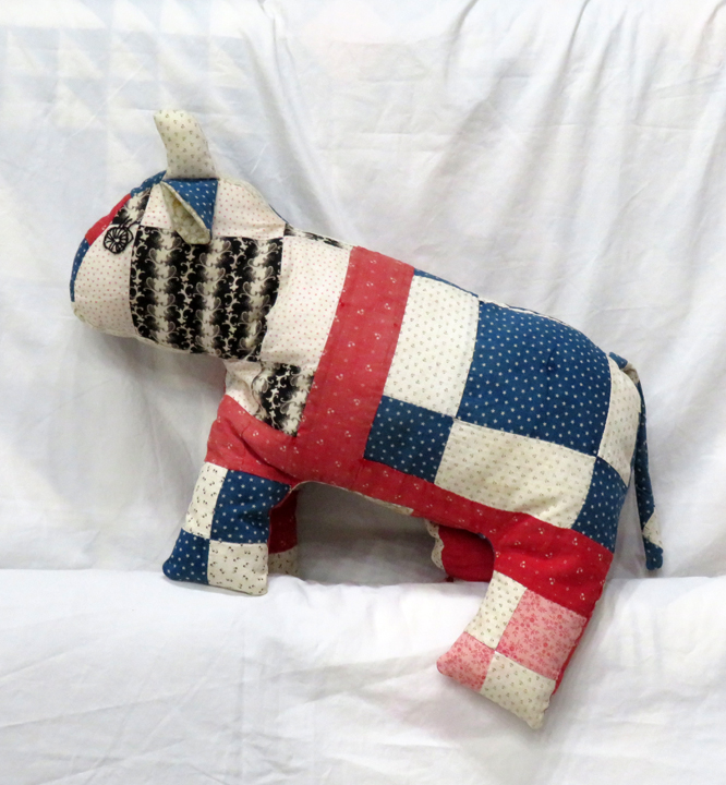 Antique Quilt Teddy Bears - Big Belly Bears
