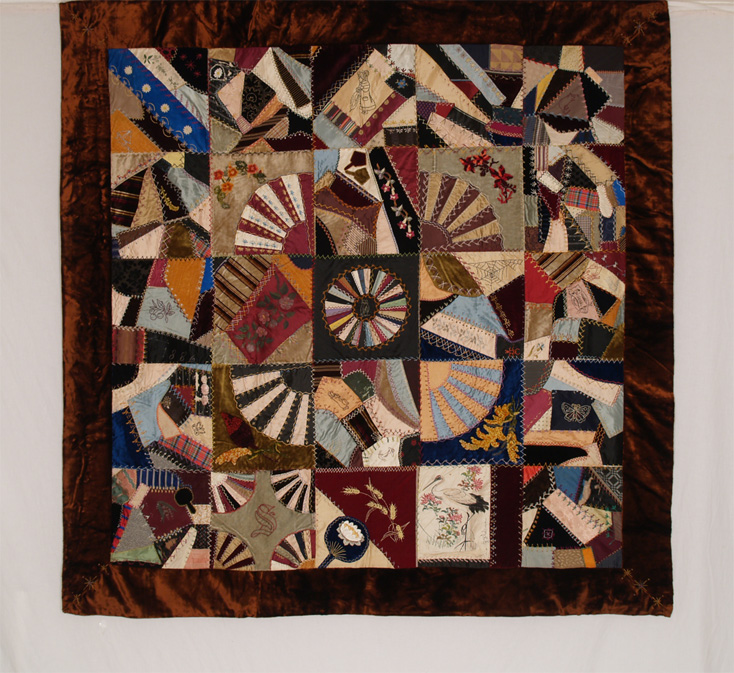 American Antique Silk Quilts - Betsey Telford-Goodwin's Rocky ... : history of crazy quilts - Adamdwight.com