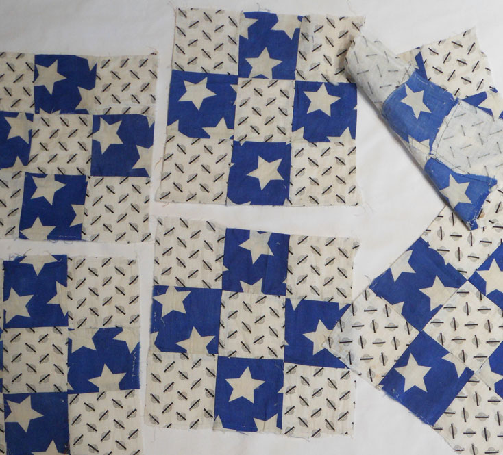 QB49 Nine Patch Quilt Blocks
