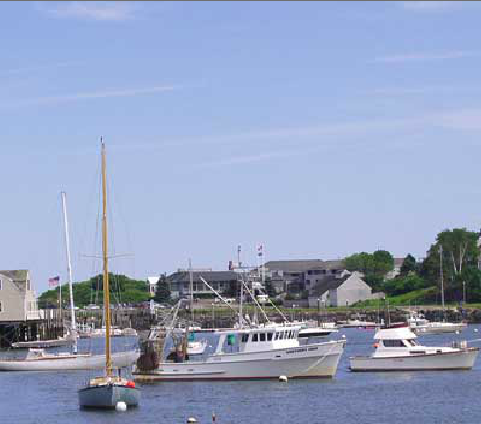 An image of the York Maine harbor.