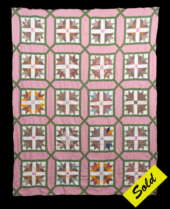 American Antique Quilt Tops For